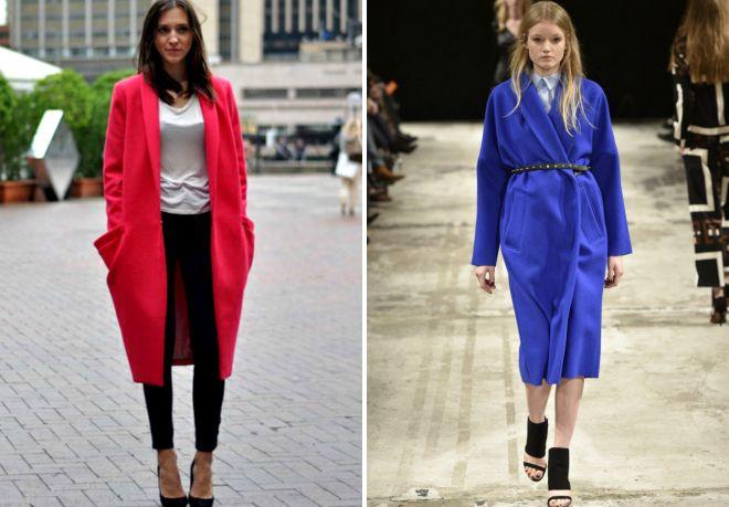какой цвет пальто в моде весной 2017