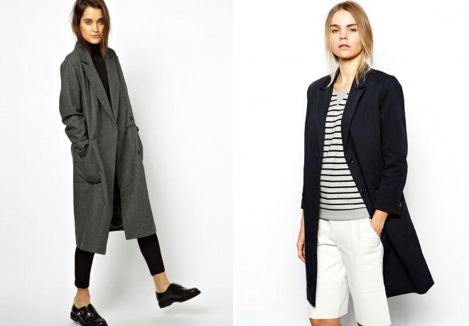 пальто в мужском стиле 2017