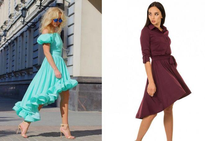 самые красивые платья со шлейфом