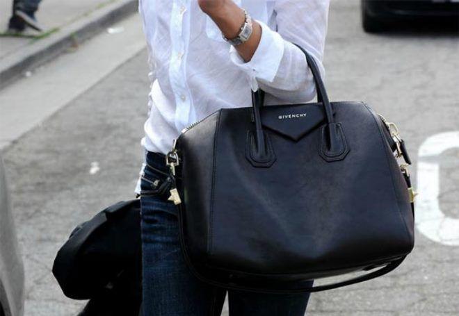 женские черные сумки