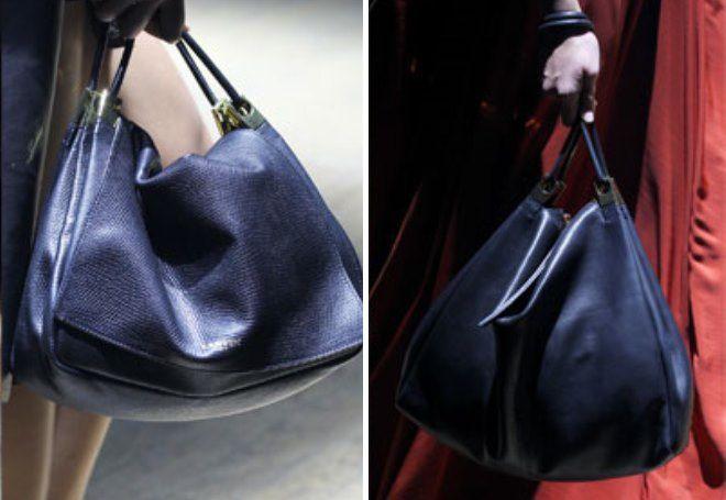 черная сумка с короткими ручками