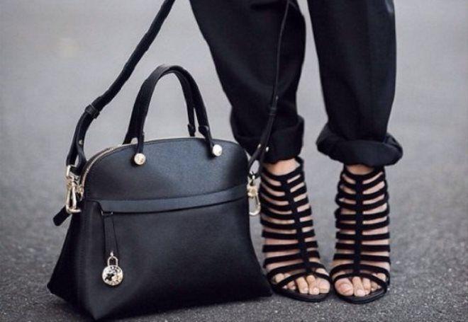 черные сумки для женщин