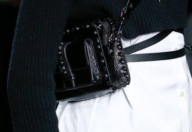 черная сумка клатч