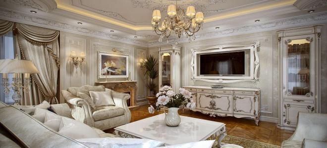 интерьер дома в классическом стиле