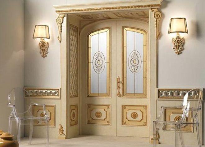 Двери в классическом стиле в интерьере