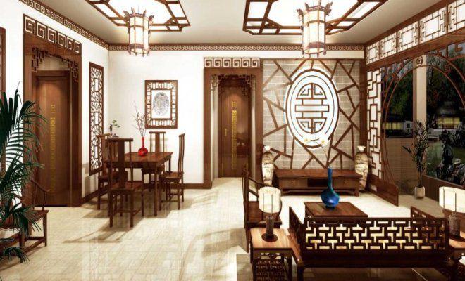 китайский этно стиль в интерьере