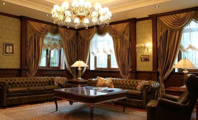 Мебель в британском стиле