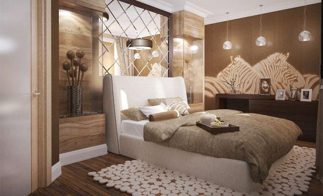 Спальня в стиле африканского сафари