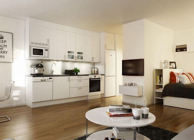 интерьер однокомнатной квартиры 13