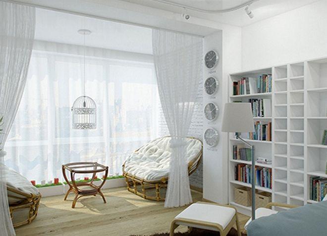 интерьер однокомнатной квартиры 20
