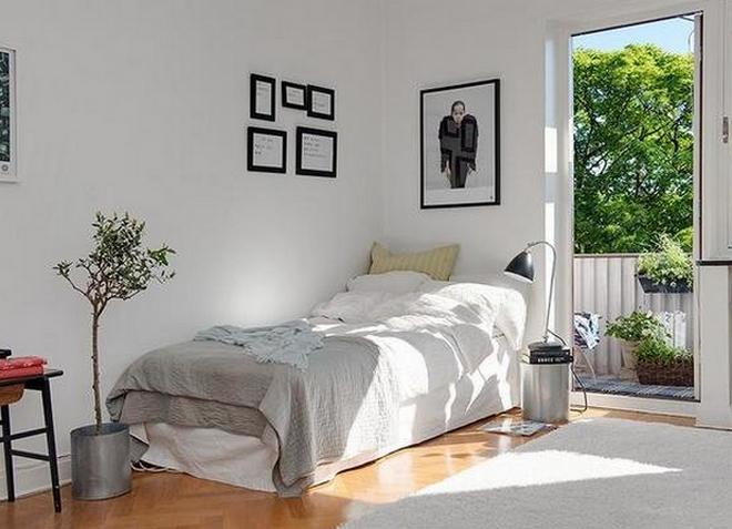 интерьер однокомнатной квартиры 31
