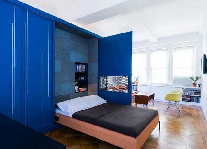 интерьер однокомнатной квартиры 7