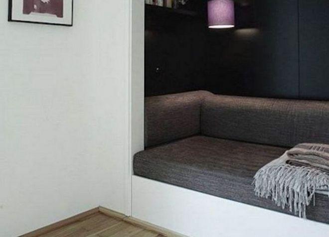 интерьер однокомнатной квартиры 8