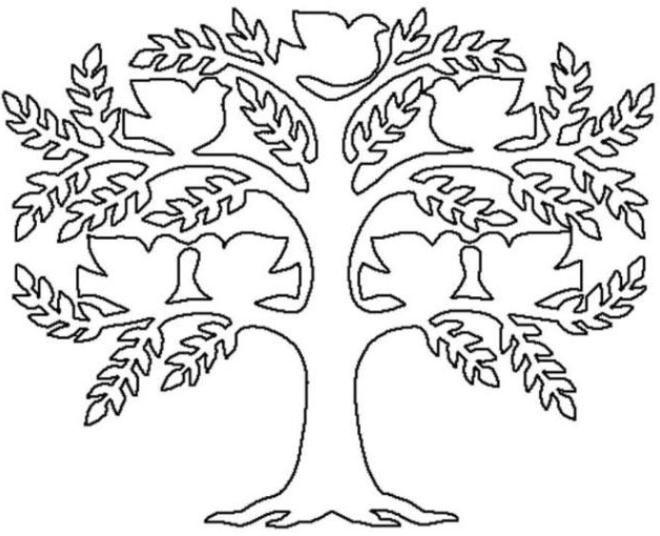Как нарисовать семейное дерево в школу15