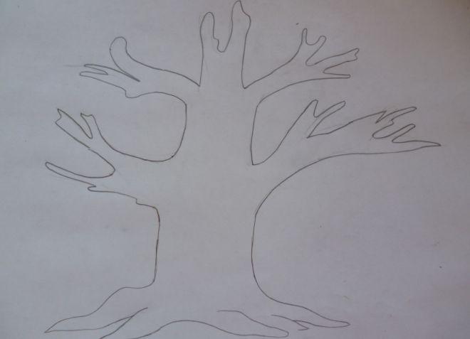 Как нарисовать семейное дерево в школу1