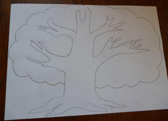 Как нарисовать семейное дерево в школу2