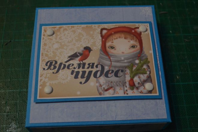 открытка коробочка своими руками (16)