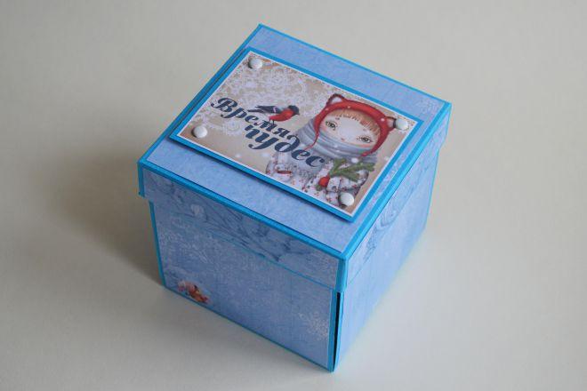 открытка коробочка своими руками (17)