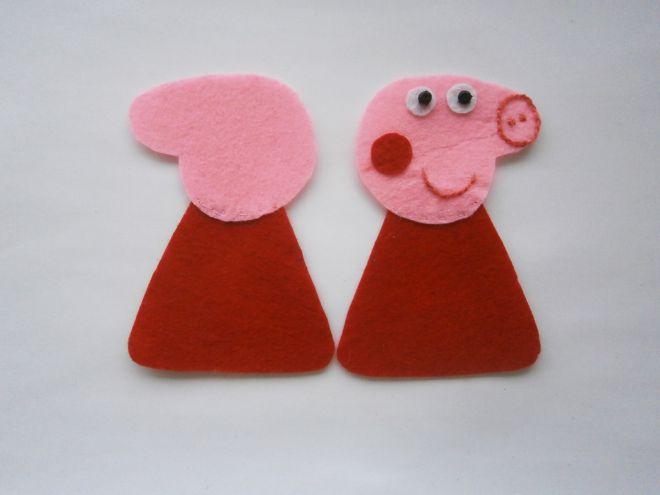 Свинка Пеппа из фетра6