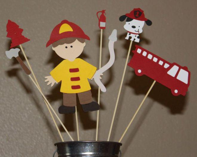 поделки на тему пожарная безопасность