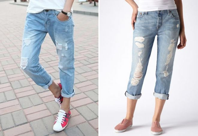 модные джинсы для девушек 2017