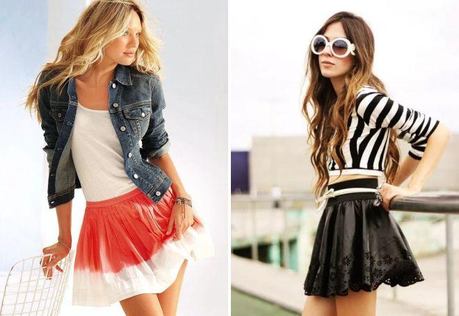 модные юбки для девушек 2017