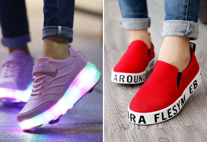 кроссовки для девушек 2017