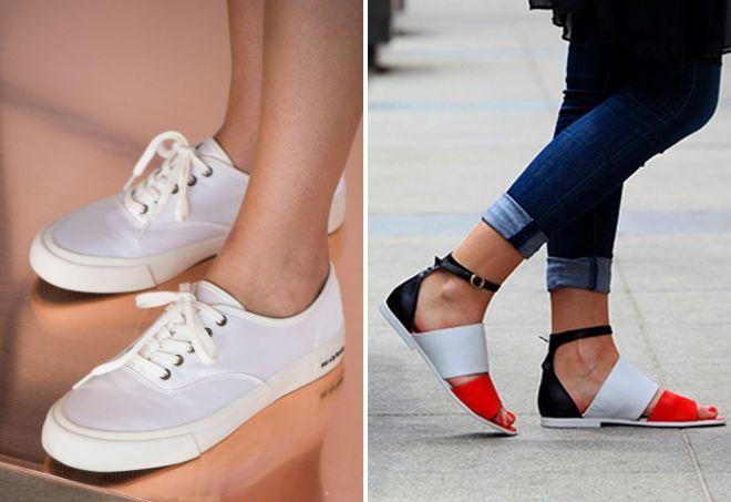 стильная обувь для девушек 2017
