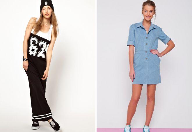 модные платья для девушек 2017