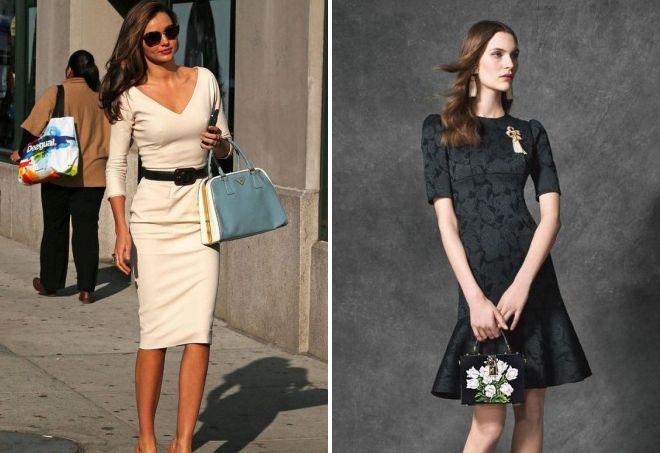 офисные платья для строгого дресс кода