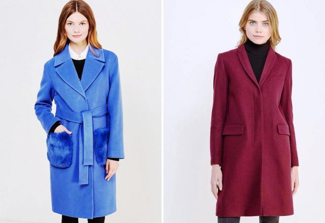 модное пальто зима 2018 цвета