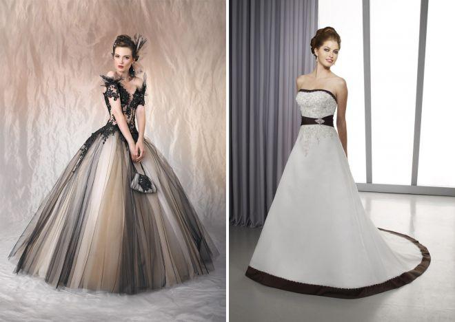 необычный образ невесты