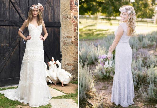 образ невесты в стиле прованс 2017