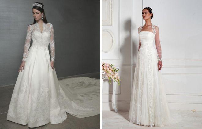 элегантный свадебный образ