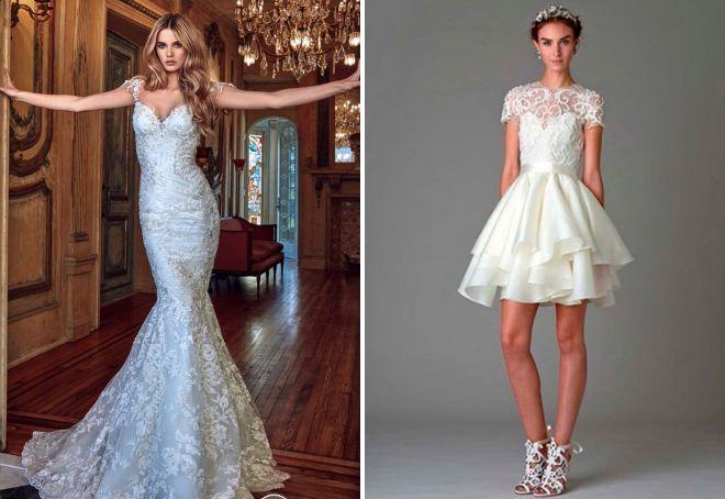 свадебный образ 2017 модные тенденции