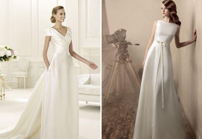 свадебное образ минимализм