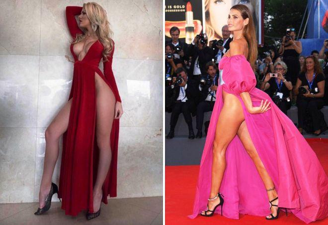 платье вагино или декольте наоборот