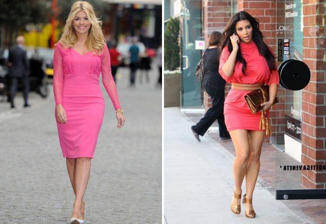 туфли под розовое платье