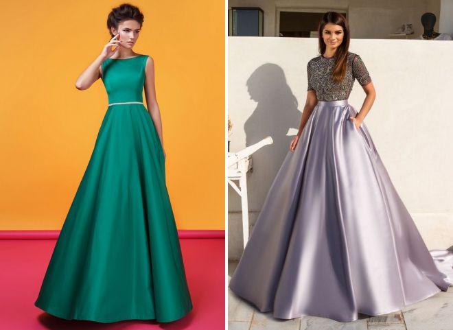 выпускные платья 2018 года модные тенденции