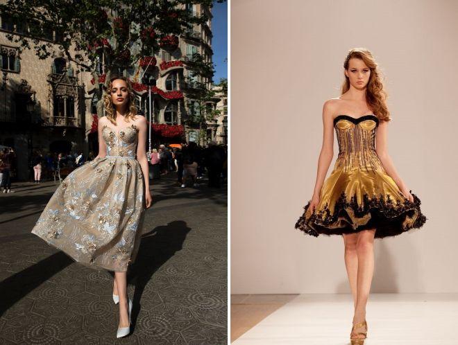 выпускные платья 2018 год миди
