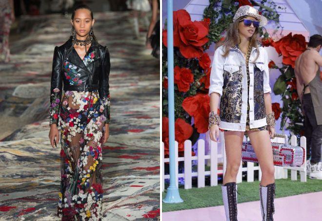 женская мода осень 2017