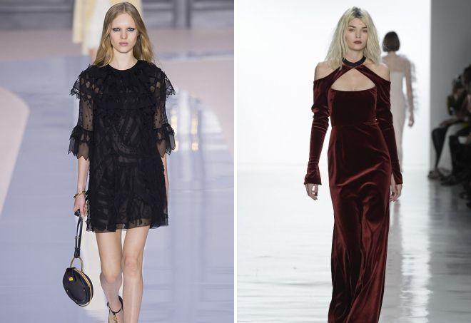 модные осенние платья 2017