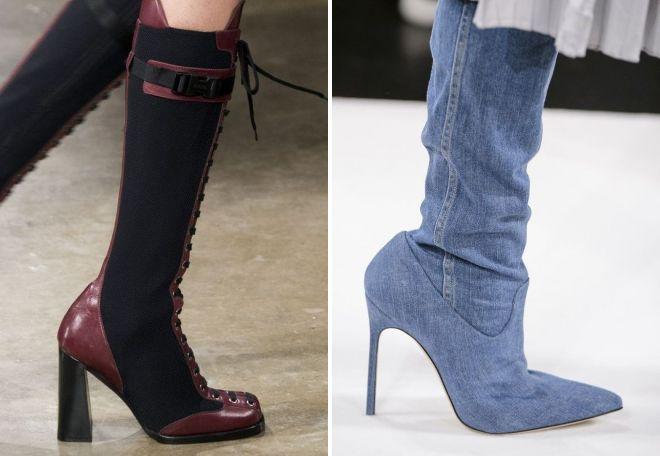 модная обувь осень 2017