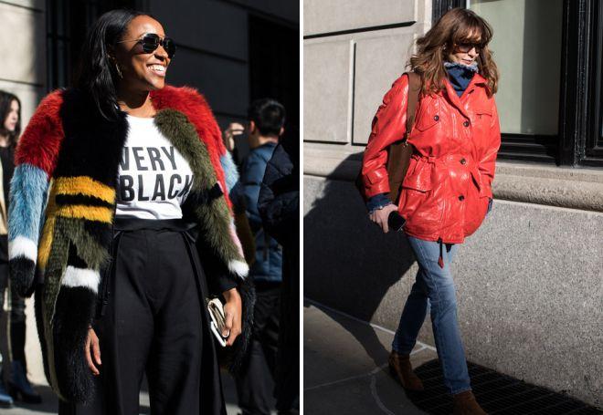 уличная мода осень 2017