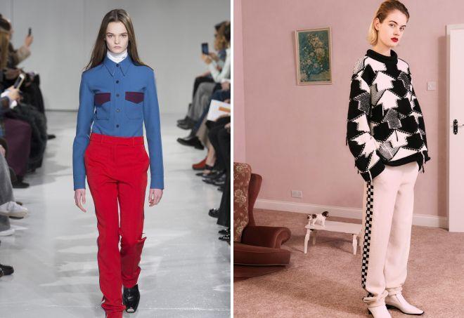 мода осень 2017 для женщин