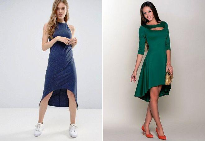 трикотажные платья 2017