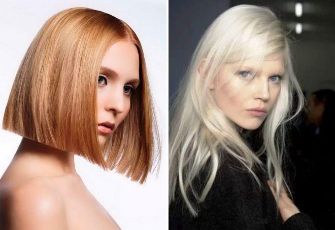 модное окрашивание блонд 2017
