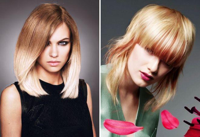 модная покраска волос 2017 на средние волосы
