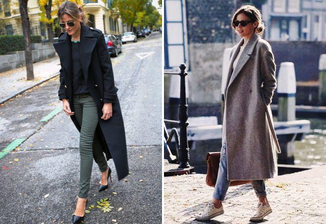 обувь под длинное пальто