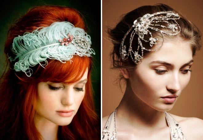необычные украшения для волос